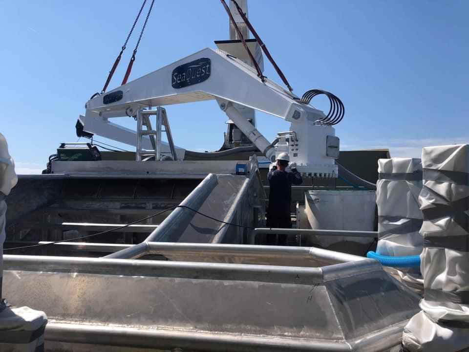FWD Crane loading 3