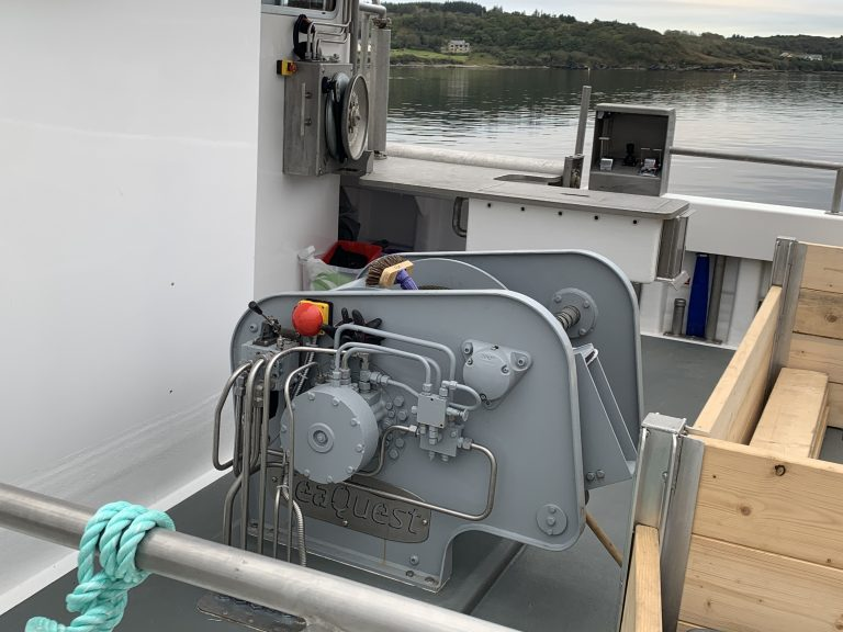 MFV Shazleah Trawl Winch