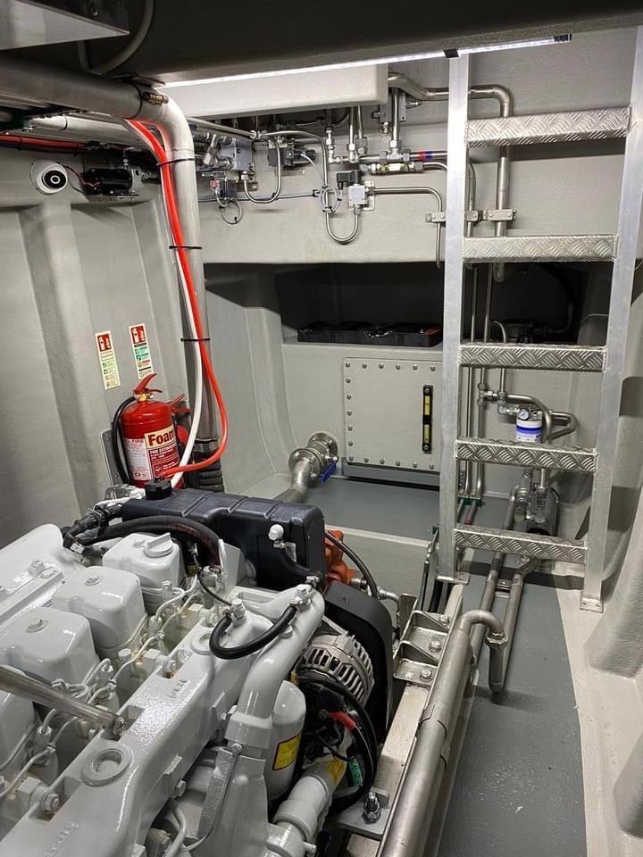 MFV Shazleah Engineroom